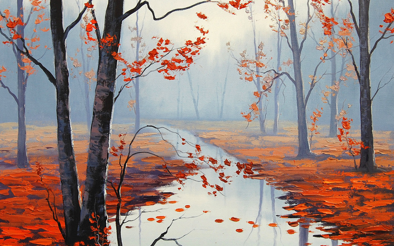 artsaus, �������, calm autumn day, ���