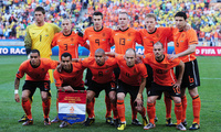 футбол, football, van persie, robben, Holland team, sneider