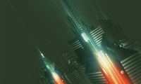 3d, abstract, Amplifier404, future, city