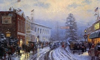 Christmas, thomas kinkade, ���������, �������, ��������, ����