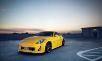 parking, nissan, photo, cars, wallpapers auto, tuning, city, 350z, tuning a ...