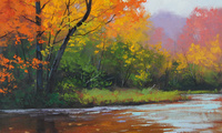 autumn stream, artsaus, �������, ���