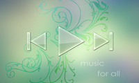 wallpaper, Обои, music player, music, player, abstract