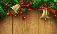 christmas bells, bell, beauty, cool, colors, golden, christmas, gold, bells ...