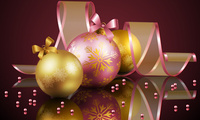delicate, balls, christmas balls, elegantly, Ball, beauty, beautiful, cool, ...