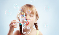 joy, Cute little girl, happiness, child, children, bubbles, милой девочкой, ...