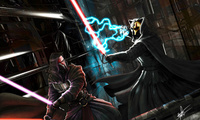 knights of the old republic, darth nihilus, Star wars, darth revan, битва с ...