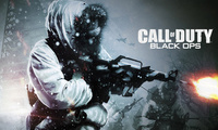call of duty, автомат, зима, Black ops