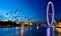 london, england, ������, thames, uk, ������, river, London eye