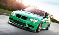 tuning, coupe, e92, ind, бмв, green, автомобиль, hell, m3, Bmw, car, 2011