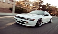Nissan, stance, tuning, nation, car, speed, silvia, style, white, s13, jdm, ...