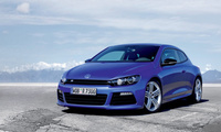 symbol, Авто обои, road, tyres, тачки, photo, blue, volkswagen scirocco, de ...