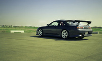 cars, Auto, wallpapers auto, nissan s14, трек, трасса, cars walls, tuning c ...