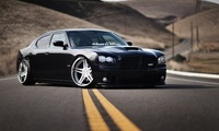stance, tuning, додж, автомобиль, srt8, Dodge, charger, nation, black, car