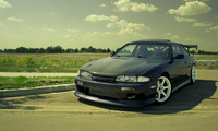 �������, nissan s14, Auto, cars walls, tuning, ���� ����, cars, tuning cars