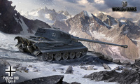 tiger 2, world of tanks, германия, танк, горы, Wot, тигр 2, танки, арт