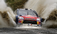 ds3, rally, брызги, ралли, фары, гонка, wrc, вода, Citroen, red bull