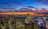 empire state building, manhattan, new york city, usa, nyc, theatre district ...