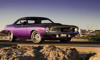 плимут, muscle car, Plymouth cuda