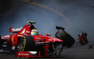 crash, felipe, Massa