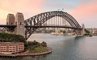 сидней, австралия, australia, Город, sydney, sydney harbour bridge