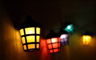 red, yellow, Lights, purple, blue, lamp, colors