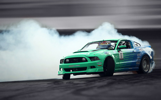 gt, smoke, mustang, tuning, sportcar, Ford, falken, drift, competition